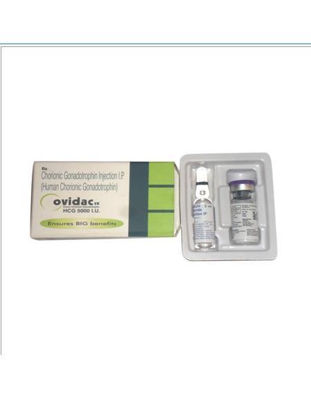 HCG - OVIDAC 5000iu/vial