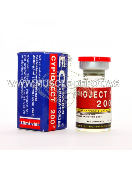 20 vials - CYPIOJECT 10ml 200mg/ml
