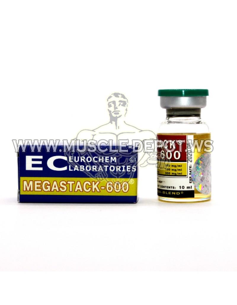 8 vials - MEGASTACK-600 10ml 600mg/ml
